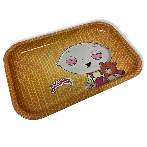 Backwoods Family Guy Stan Rolling Tray Tobacco 11 By 7 2