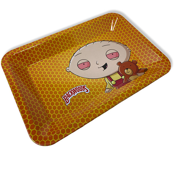 Backwoods Family Guy Stan Rolling Tray Tobacco 7 By 5 2