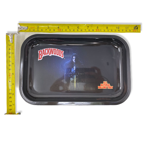 Backwoods Rolling Tray Tobacco 11 By 7 Design 1