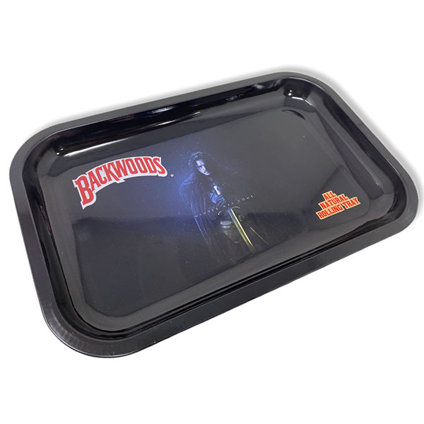 Backwoods Rolling Tray Tobacco 11 By 7 Design 2