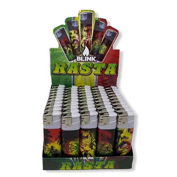 Blink Rasta Lighters Simple Classic Lighter Cigarette 1
