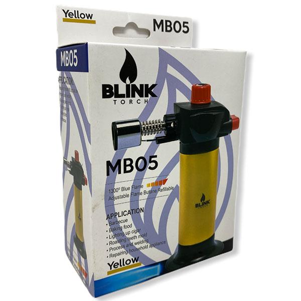 Blink Torch Mb05 Blue Flame Huge Long Adjustable Refillable 1