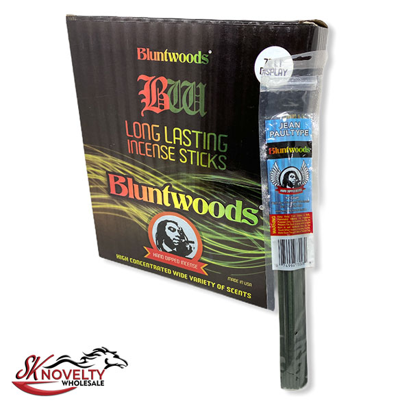 Bluntwoods Long Lasting Incense Sticks Hand Dipped Incense 72 Count Display 1
