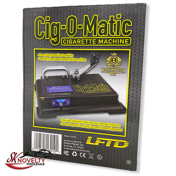 Cig O Matic Cigarette Machine 2
