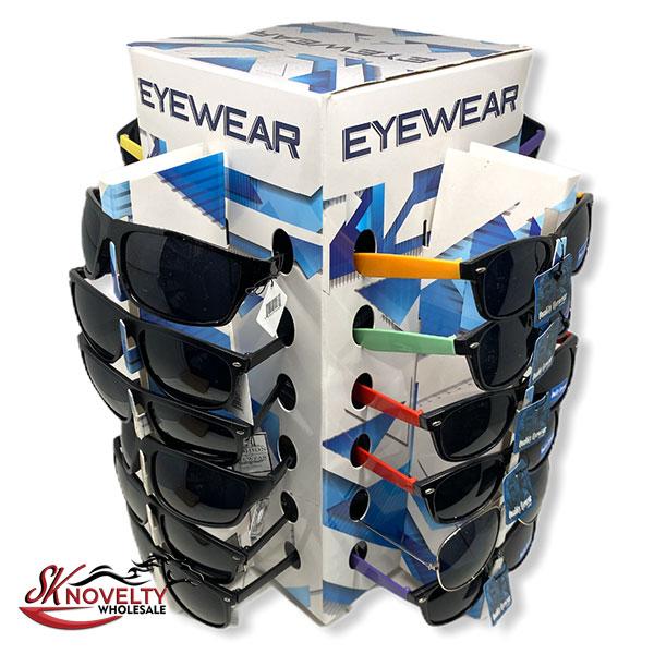 Eyewear Sun Shade Display 36 Count Display Sunglasses 1