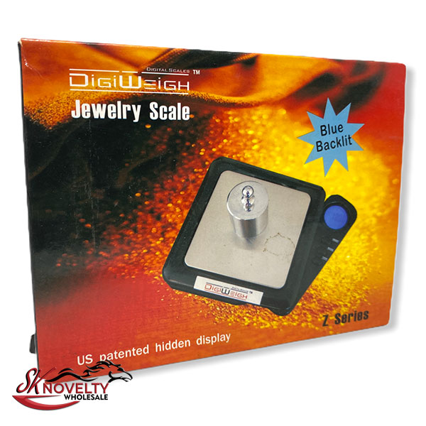 Jewelry Scale Blue Blacklit Z Series 1