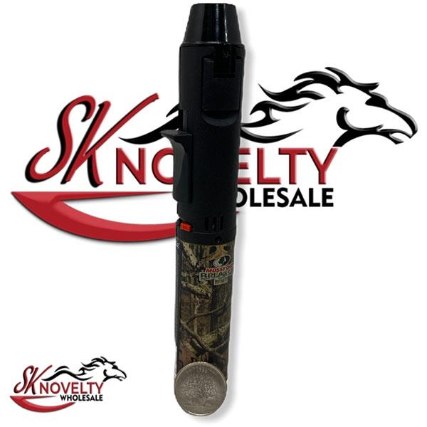 Mossy Oak Break Up Safe Stop Pen Torch 12pcs Lighter 2