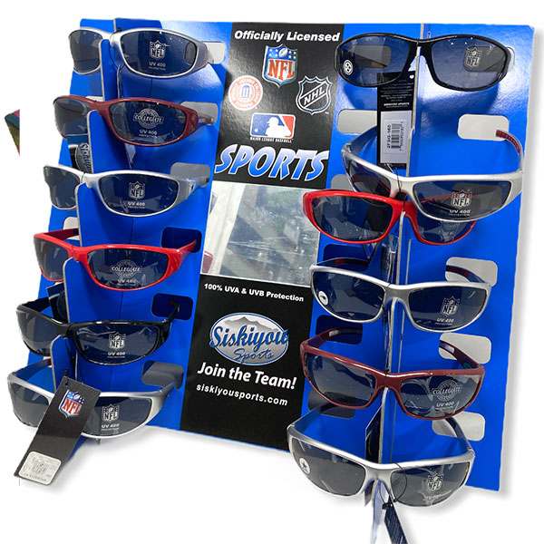 Nfl Official Sports Football Baseball Nhl Siskiyou Apparels Galss Sun Shades Uv 2
