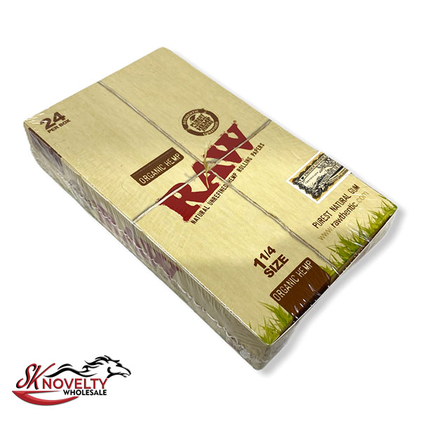 Organic Hemp Paper Raw 24 Cont Per Box