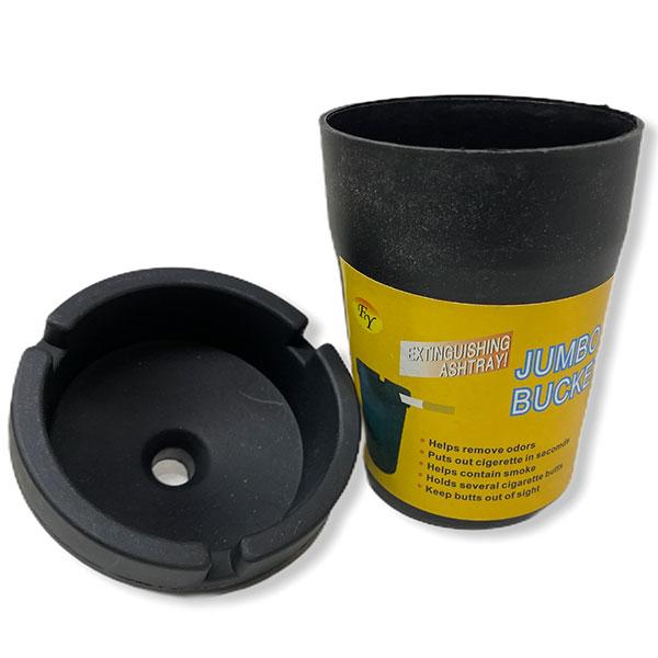 Plastic Ashtray Posacenere In 4 Colors 12 Pcs Car Jumbo Butt Bucket 2