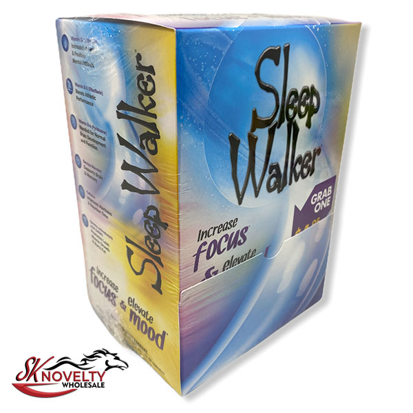 Sleep Walker Pill Two Capsules Box Display Wholesale