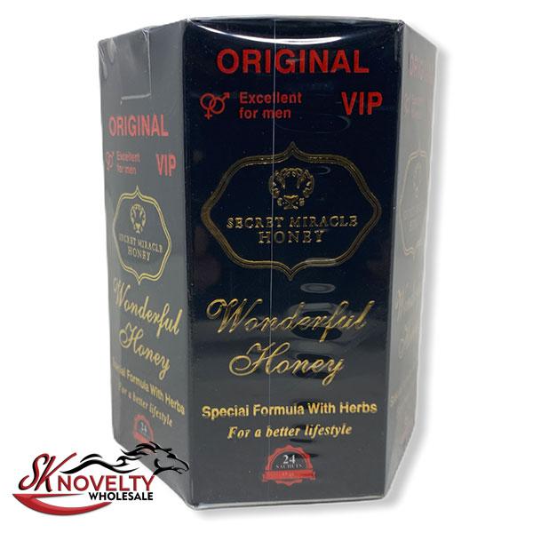 Honey Sachets Platinum Long Lasting Male Enhancement Honey Original Secret Miracle Sex 24 Counts Count 2
