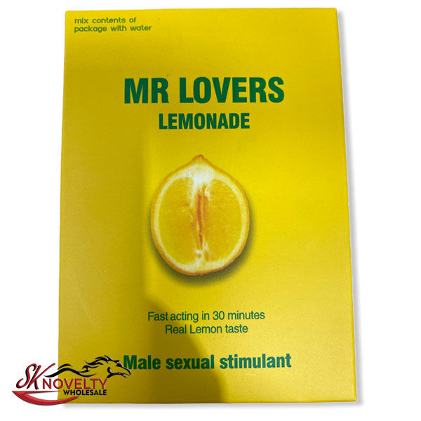 Mr Lovers Lemonade Pouches Male Enhancement Singple Pill Enhancer Sexual Boost Stamina Sex Xxx 10 Count Display 2