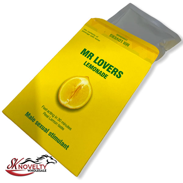 Mr Lovers Lemonade Pouches Male Enhancement Singple Pill Enhancer Sexual Boost Stamina Sex Xxx 10 Count Display 3