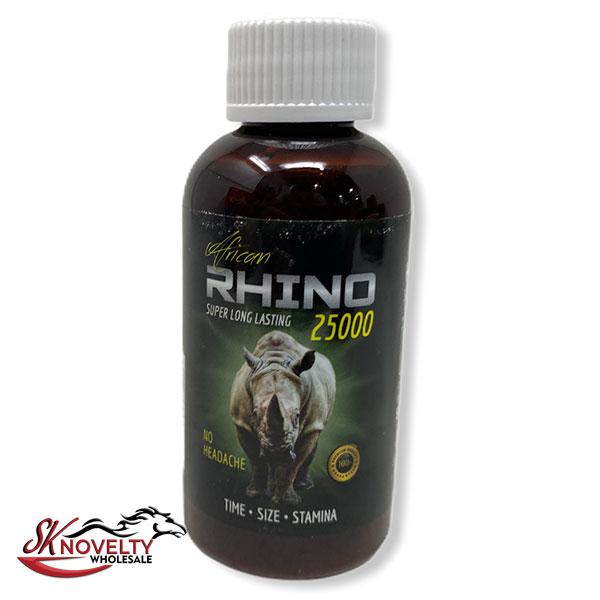 Rhino African 25k Male Enhancement Enhancer Sexual Boost Stamina Sex Xxx 12 Count Display 2