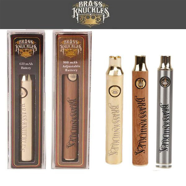 Buy Online Vape Brass Knuckes 650 900 Mah Battery Gold Silver Brown 1