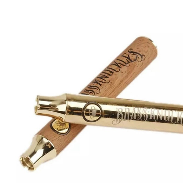 Buy Online Vape Brass Knuckes 650 900 Mah Battery Gold Silver Brown 3