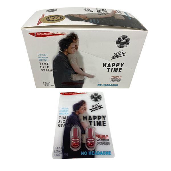 Best Online Buy Happy Time 500k Super Long Lasting Male Enhancement 24 Count 1