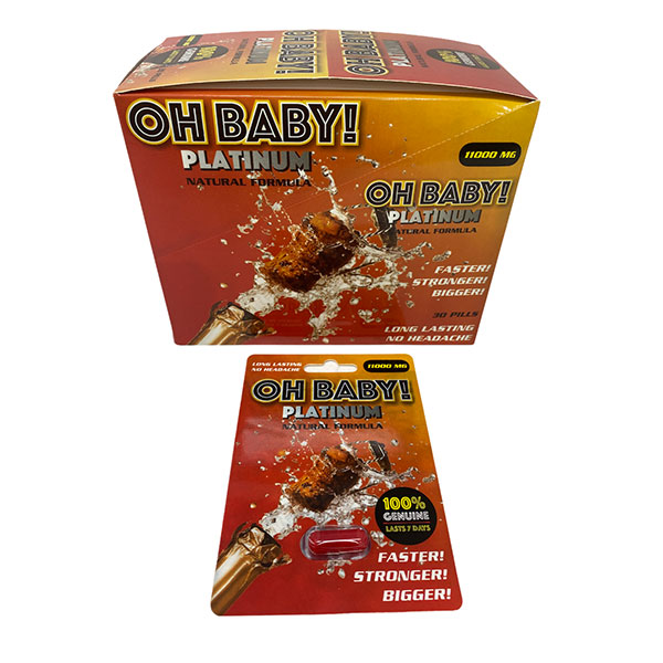 Best Online Buy Oh Baby 11000mg Platinum Long Lasting Male Enhancement 24 Count 1