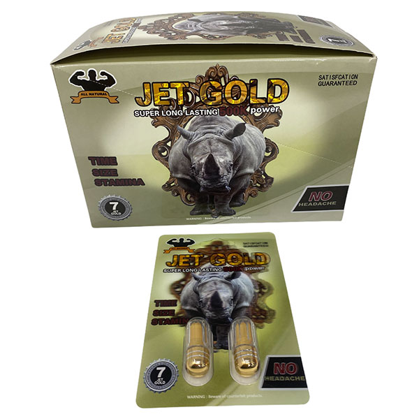 Best Online Buyjet Gold 500k Long Lasting Male Enhancement 24 Count 1