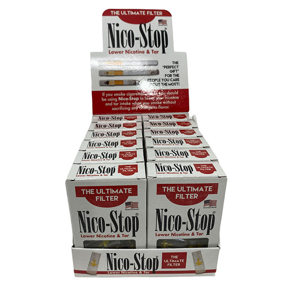 Nico Stop The Ultimate Filter Lower Nicotine Tar 12 1