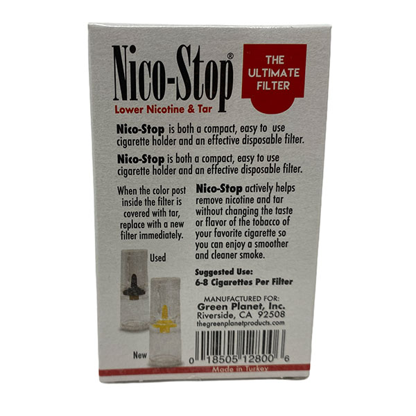 Nico Stop The Ultimate Filter Lower Nicotine Tar 12 4