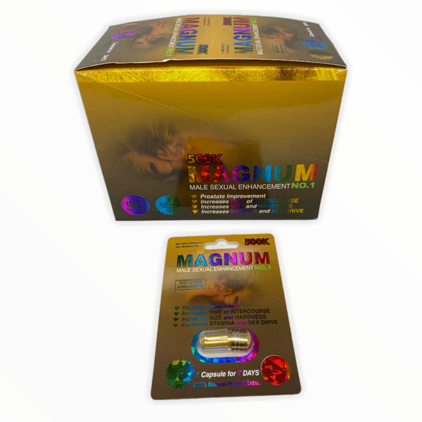 Magnum 500k Gold Male Sexual Enhacement No 1