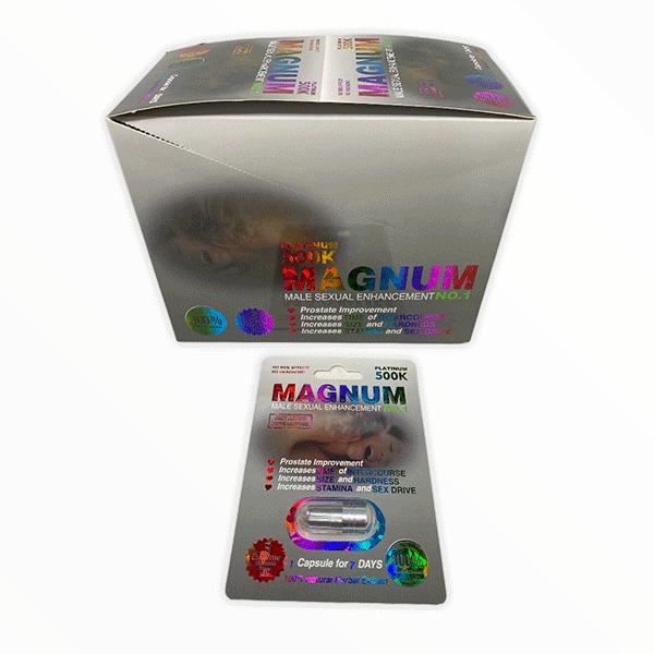 Magnum 500k Platinum Male Enhancement Pill 1