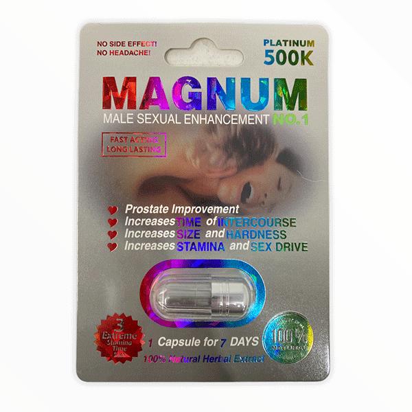 Magnum 500k Platinum Male Enhancement Pill 2
