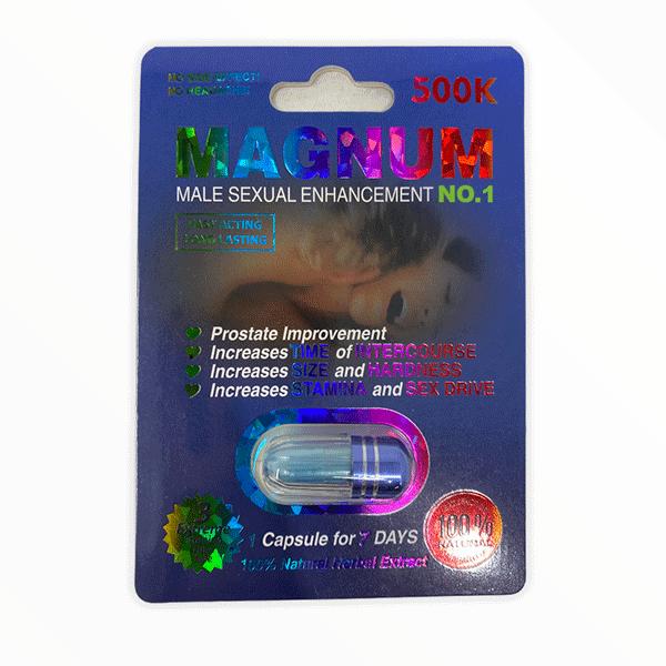 Magnum 500k Single Pill Male Enhancement No 1 2