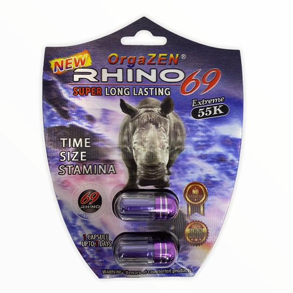 Orgazen Rhino 69 55k Extreme Shield Pill Male Enhancement 2