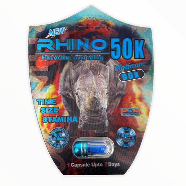 Rhino 50k Platinum 99k New Male Enhancement Pill 2