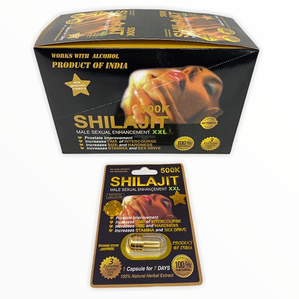 Shilajit 500k Male Enhancement Pill Xxl Black Male Single Pill 1