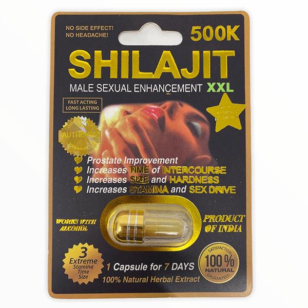 Shilajit 500k Male Enhancement Pill Xxl Black Male Single Pill 2