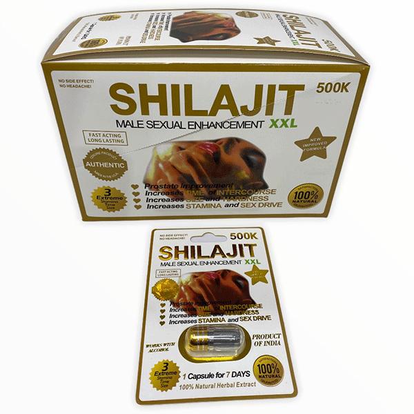 Shilajit 500k Male Enhancement Pill Xxl White Male Single Pill 1