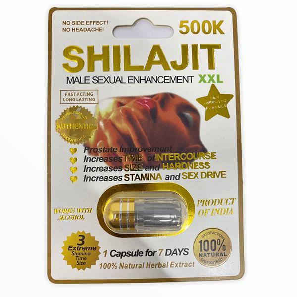 Shilajit 500k Male Enhancement Pill Xxl White Male Single Pill 2